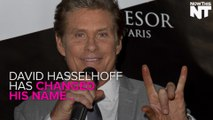 David Hasselhoff Has Changed His Name...To David Hoff