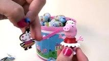 jugetes Huevos Sorpresa de Peppa Pig en Español Cubo con 25 Huevos de Peppa Pig huevos