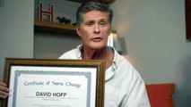 David Hasselhoff Says He Just Changed His Name To 'David Hoff'