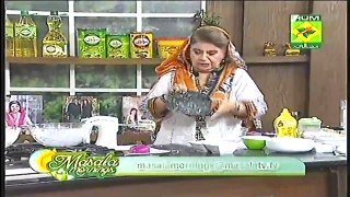 Masala Mornings Recipe Baked CauliFlower by Shireen Anwar Masala Tv 13th November 2015