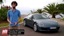 Porsche 911 restylée : premier essai, premières impressions, notre avis