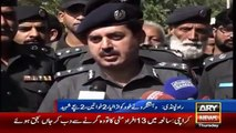 Ary News Headlines 16 October 2015 , Terrorist Killed Himself By Suicide Attack in Rawalpi