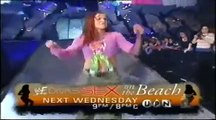 WWE Lita vs Stacy Keibler show