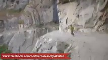The Most Craziest and dangerous Road Of The World Pakistan; From Foreigner's Eye