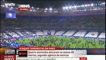 Ataque Terrorista Na França em Paris - França x Alemanha 13 - 11 - 2015