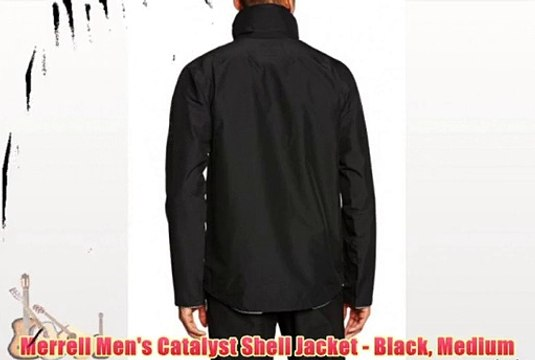 d01ffba8 Merrell Men's Catalyst Shell Jacket - Black Medium