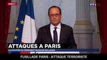 Attaques de Paris : le discours de François Hollande