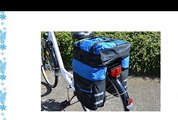 Filmer Multi-Functional Bike Luggage Bag - Black/Blue
