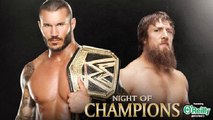 WWE Night Of Champions 2013 Randy Orton vs. Daniel Bryan Por Campeon De La WWE