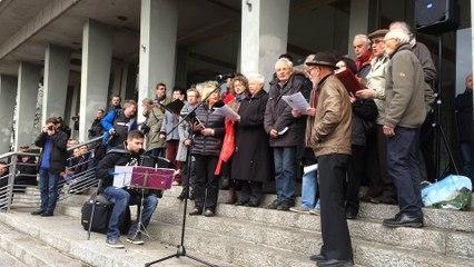 Attentats de Paris : rassemblement à Brest