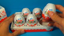 5 Kinder Surprise Eggs with toys AIRBUS A330-300 For Kids For BABY