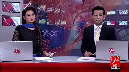 Wazeer-E-Azam Ka Zalzala Mutasreen sy Khitab – 14 Nov 15 - 92 News HD