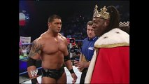 WWE  Batista vs King Booker World Heavyweight Championship Full Length Match 2015