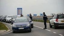 Frontière Belge: contrôle de Gendarmerie suite aux attentats.