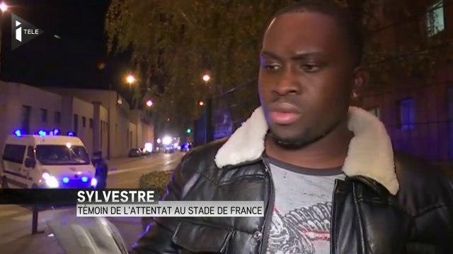 """Attentat au Stade de France : """"C'est mon portable qui m'a sauvé"""""""