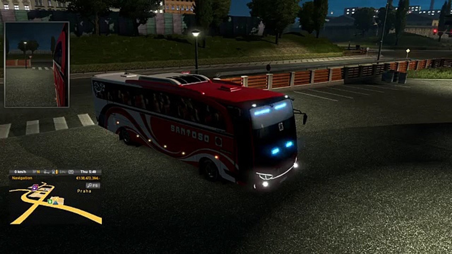 Euro Truck Simulator 2 Bus Mod Mercedes Benz Download - New Version 1 18