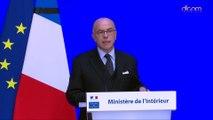 Déclaration de Bernard Cazeneuve suite aux attentats de Paris