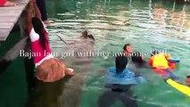 Se le hundió la Canoa PERO la técnica que utiliza esta niña para quitarle el agua te dejará impresionado