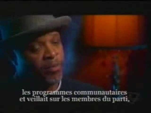 Black Panthers Party - Interview (1/2)
