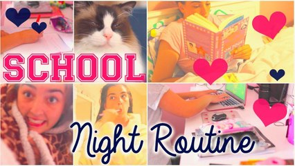 SCHOOL Night Routine 2015!!