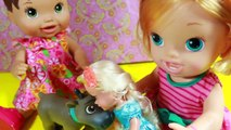 Baby Alive Frozen Disney Elsa Anna Toddler Dolls Playdate Elsa Marries Who Baby Toy Story