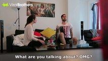 Pregnant Girlfriend Prank Backfires! Hilarious double prank
