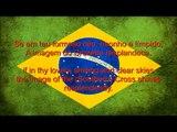 Brazil National Anthem: Hino Nacional Brasileiro with Portuguese and English Lyrics