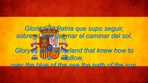 Spain National Anthem: Marcha Real with Spanish and English Lyrics