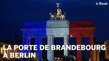 Les monuments mondiaux aux couleurs du drapeau français
