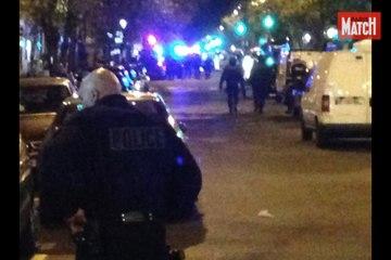 Au moment de l'assaut de la police au Bataclan