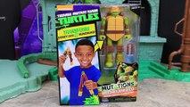 Ninja Turtles Figure to Weapon Toy Leonardo Mutation into Katana Sword Raphael Mutations i
