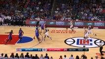 Blake Griffin fait une stephen Curry dans la défense des Pistons