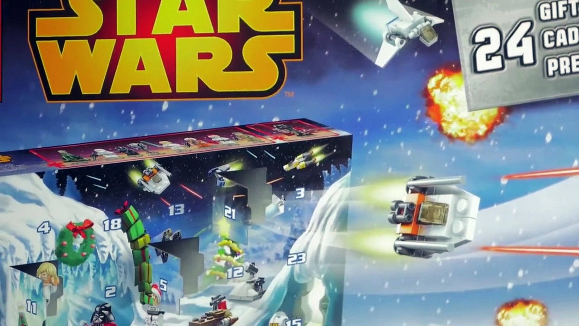 [LEGO STAR WARS] Calendrier de lAvent 2014 Lego Star Wars Star Wars Advent Calendar