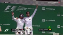 Formula 1 2015 Brazil Qualifying / Button & Alonso on podium and Grosjean Spins