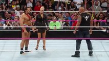 WWE RAW | The Rock confronts Alexander Rusev Full Match - New Wrestling Raw,