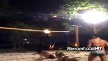 Ronaldinho Amazing Shark Attack ● Ronaldinho Amazing Play Volleyball HD