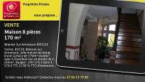 A vendre - Maison de bourg - Brienon Sur Armancon (89210) - 8 pièces - 170m²