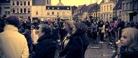 Orchies,rassemblement émouvant en hommage aux victimes des attentats...