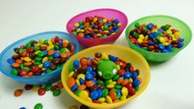 M&M's M&M's Surprise Toys Hide & Seek - Angry Birds, Frozen Olaf, Filly & Peppa Pig Toys