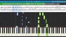 Johann Pachelbel Pachelbels Canon in piano lesson piano tutorial (slow)