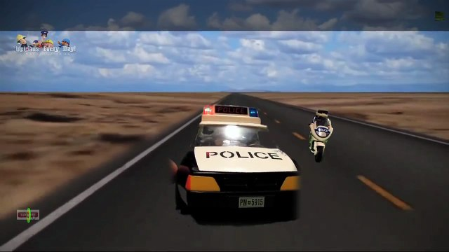Police Chase! New Episode With Toys, Playmobil, Fireman Sam, Peppa Pig, Postman Pat. 2015