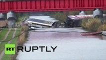 11 morts et 37 blessés dans l'accident d'un TGV près de Strasbourg, le plus grave jamais enregistré