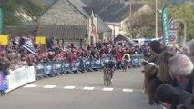 Coupe de France de cyclo-cross 2015 : Le sprint pour la 3e place des Juniors à Quelneuc