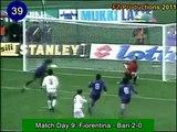 Gabriel Omar Batistuta 184 goals in Serie A (part 2/6): 30 74 (Fiorentina 1994 96)
