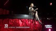 Madonna chante La Vie en rose en hommage aux victimes des attentats