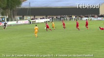 Football. Coupe de France. La Gacilly - Les Herbiers