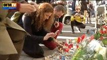 Les Parisiens rendent hommage aux victimes des attentats