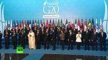 Dans les couloirs du sommet du G20
