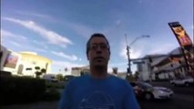 Dad films Las Vegas holiday of lifetime on GoPro but realises too late camera was in selfie mode