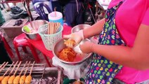 Thai Street Food Vendors in Thailand  Cooking Thai Street Food